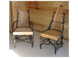 Deluxe Hickory Table Chair