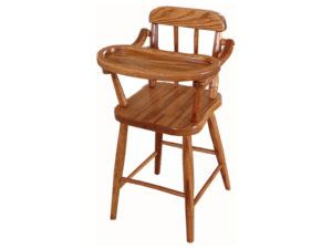 Doll Highchair with Spindles