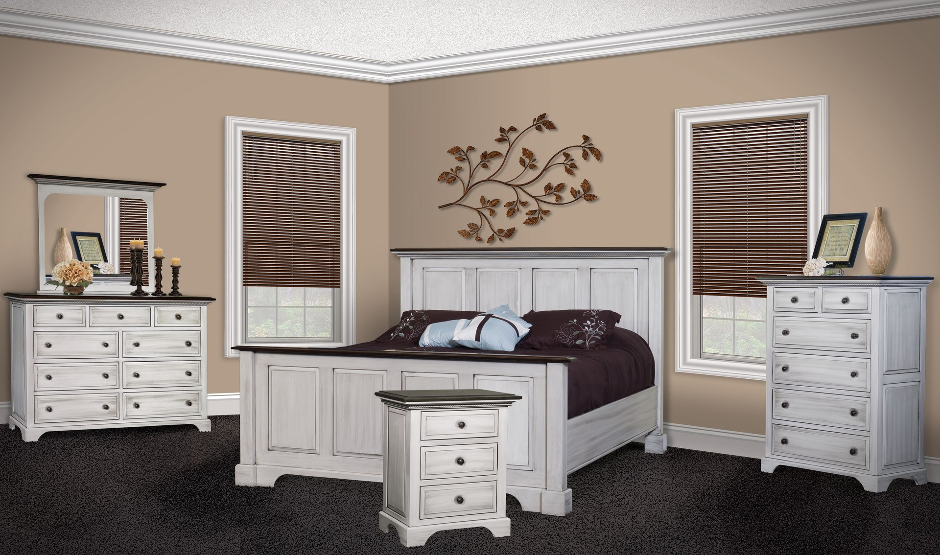 amish escalade bedroom set brandenberry amish furniture. Black Bedroom Furniture Sets. Home Design Ideas