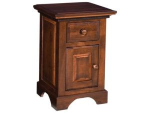Escalade 1 Drawer, 1 Door Nightstand