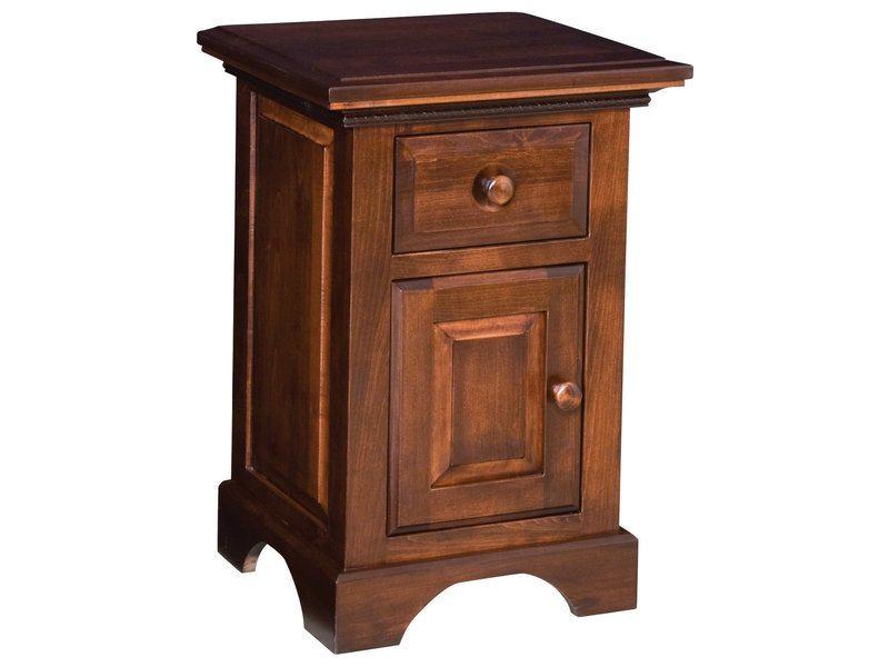 Escalade 1 Drawer, 1 Door Nightstand