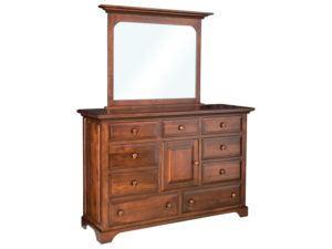 Escalade 9 Drawer, 1 Door Dresser