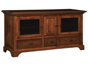 Escalade Three Door, Three Drawer Plasma Stand