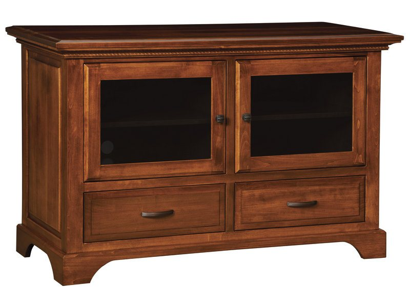 Escalade Two Door, Two Drawer Plasma Stand