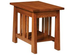 Freemont Open Mission Small End Table