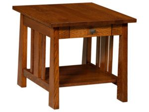 Freemont Open Mission End Table