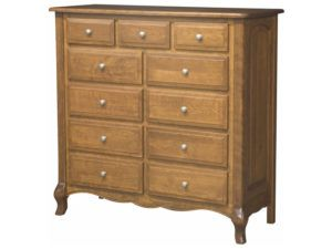 French Country Eleven Drawer Chest