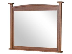 French Country Post Mirror