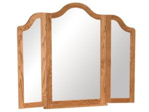 French Country Tri-View Mirror