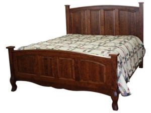 French Country Wood Bed
