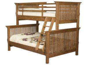 Full-Twin Mission Bunk Bed