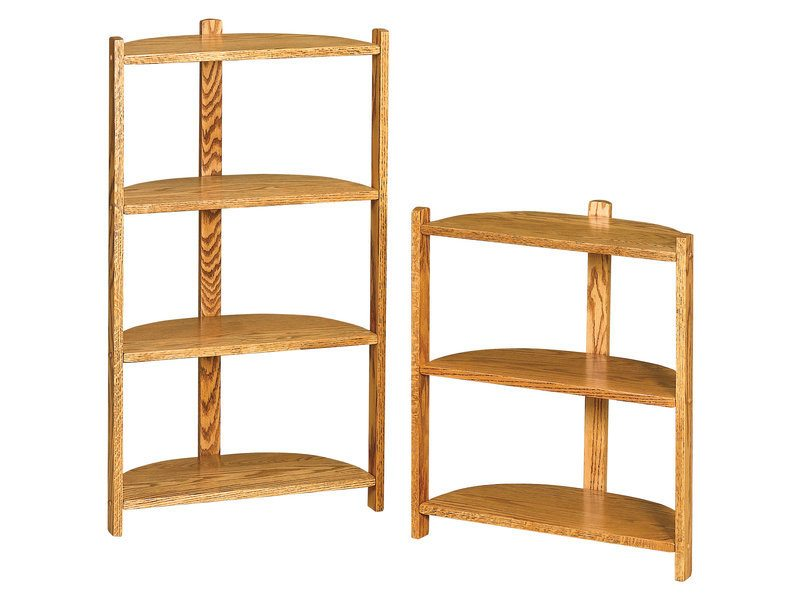 Half Round Three and Four Tier Stands