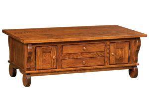 Hampton Cabinet Coffee Table