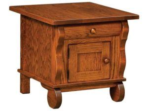 Hampton Cabinet End Table