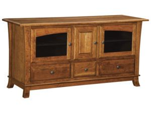 Hampton Three Door, Three Drawer Plasma Stand