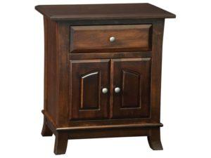 Hampton One Drawer, One Door Nightstand