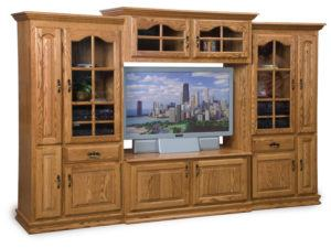 Heritage 4-Piece TV Wall Unit