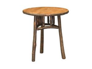 Hickory 22 inch Round End Table