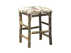 Hickory 24 inch Bar Stool with Fabric Seat