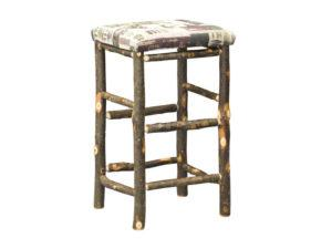 Hickory 30 inch Bar Stool with Fabric Seat