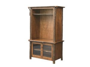 Hickory 42 inch TV Console Hutch