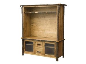 Hickory 60 inch TV Console Hutch