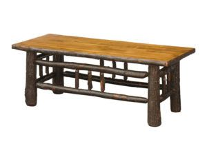 Hickory Coffee Table Lumberjack Collection