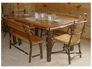 Hickory Farmer Dining Set