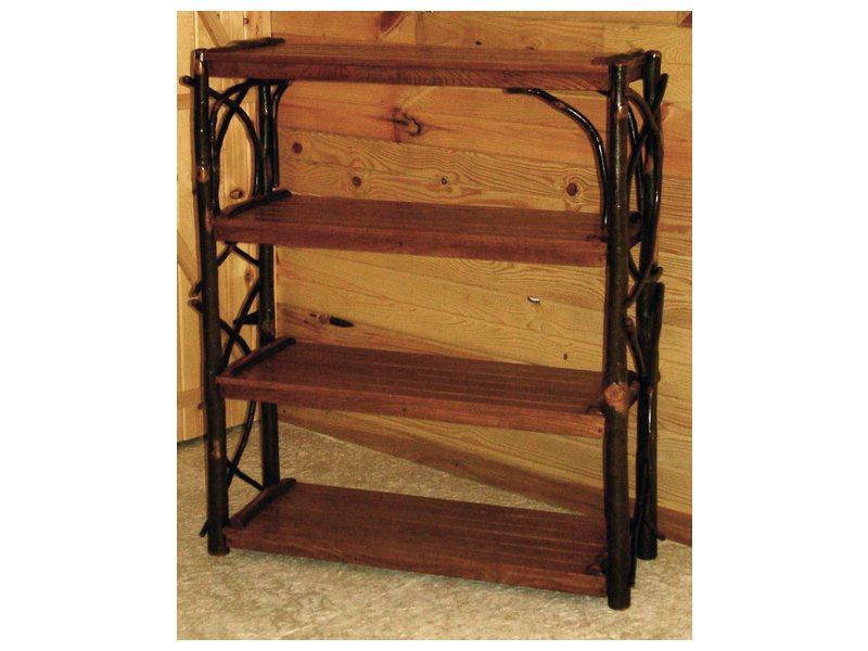 Hickory Four Shelf Stand
