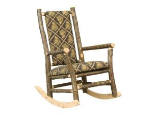 Hickory Grandpa Rocker with Fabric
