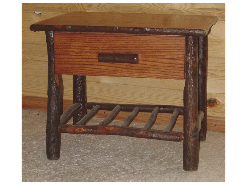 Hickory Hilltop One Drawer Nightstand