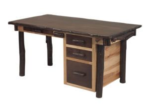 Hickory Secretary Desk