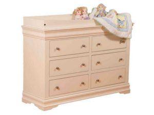 Louis Phillippe Children's Dresser