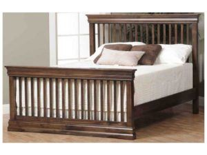 Louis Phillippe Children's Slat Bed