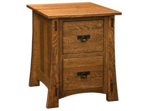 Modesto Two Drawer File Cabinet