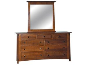 McCoy Dresser with Rectangle Mirror