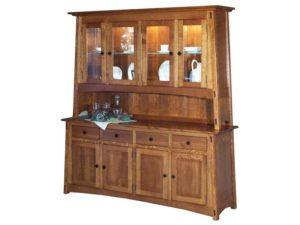 McCoy Four Door Hutch