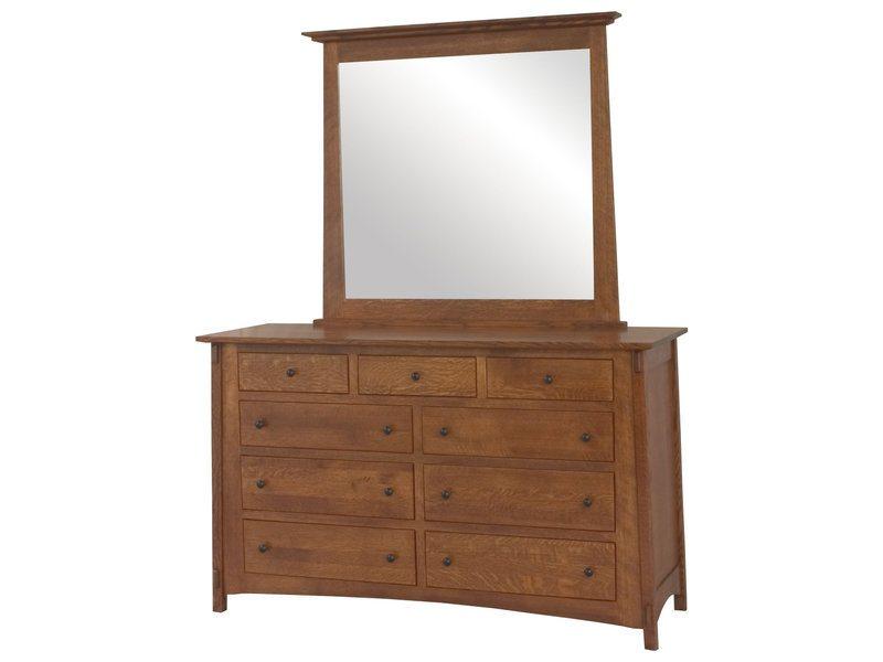 McCoy Nine Drawer Dresser