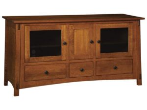 McCoy Three Door, Three Drawer Plasma Stand