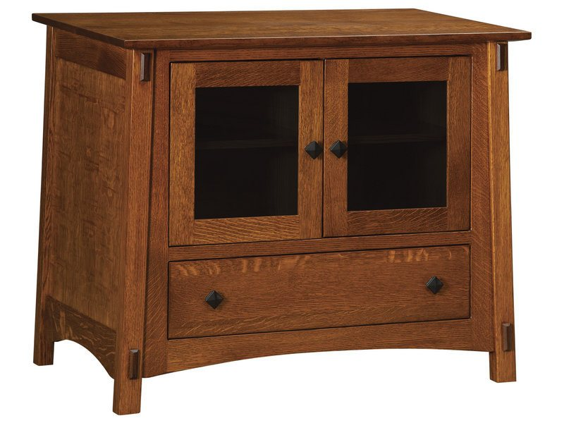 McCoy Two Door, One Drawer Plasma Stand