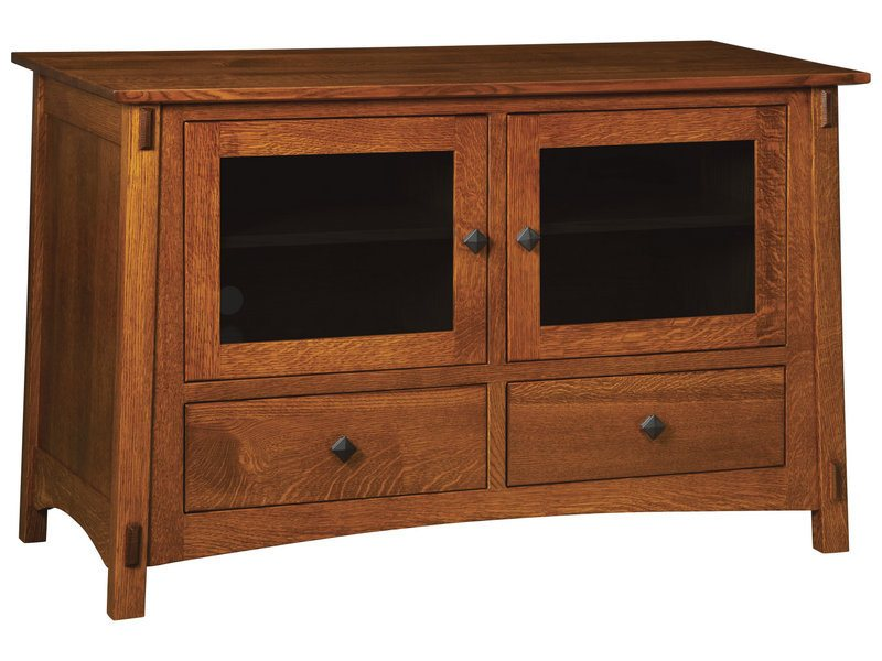 McCoy Two Door, Two Drawer Plasma Stand