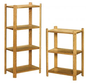 Medium Rectangle Three and Four Tier Stands