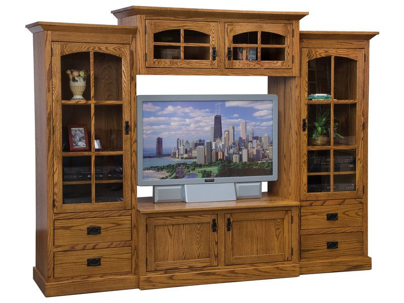 Mission 4-Piece TV Wall Unit