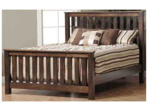 Mission Children's Slat Bed