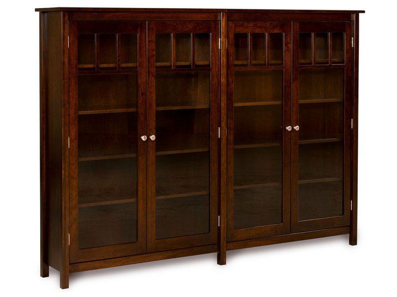 Mission Double Bookcase
