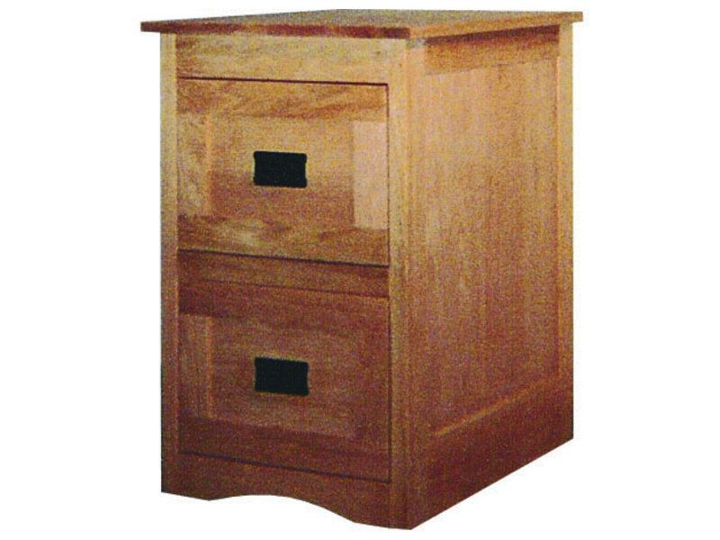 Mission File Cabinet With Framed Drawer Fronts