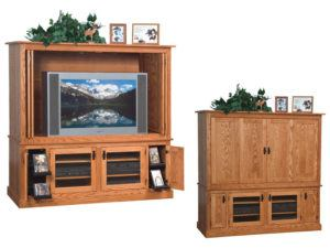 Mission Large Widescreen TV Cabinet