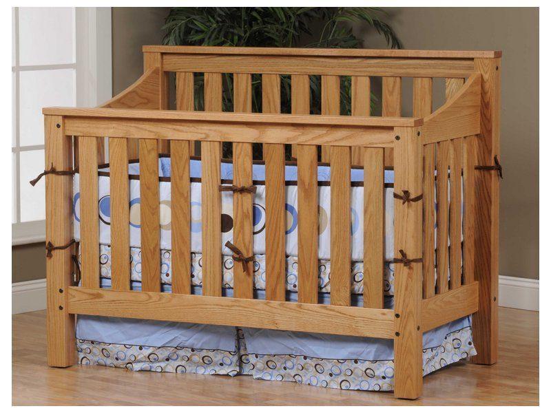 Mission Slat Crib