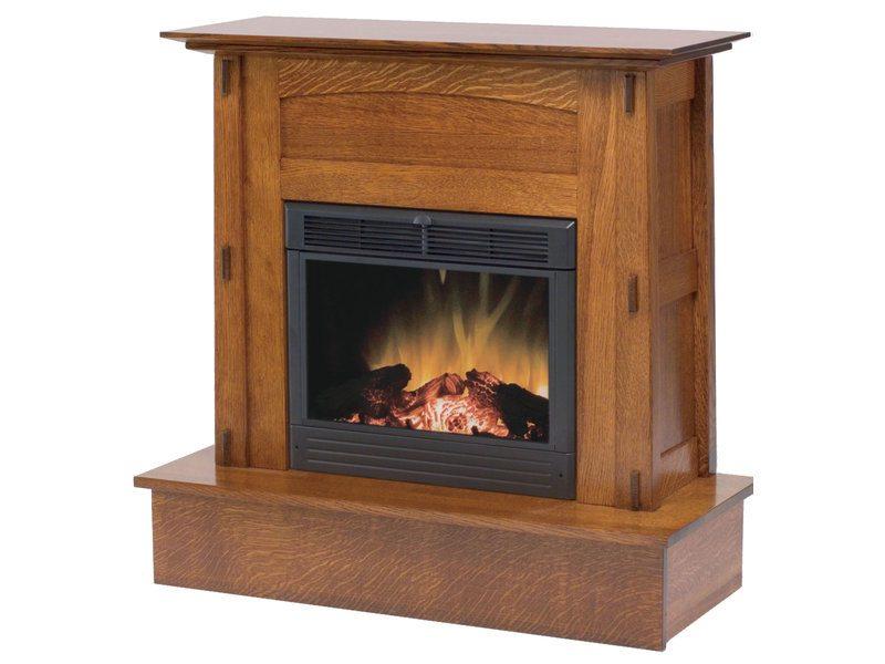 Amish Modesto Fireplace