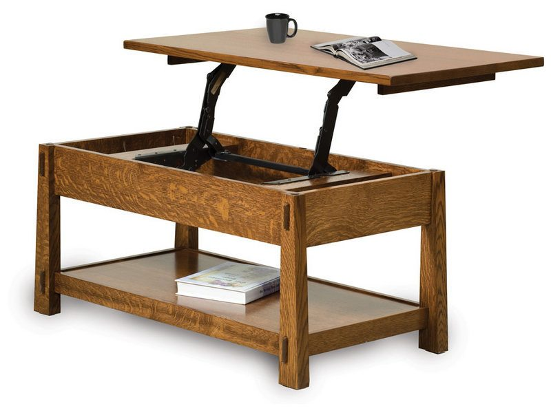 Modesto Lift Top Coffee Table Amish Made Coffee Table